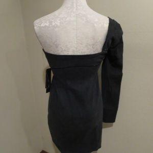d13b8a17bda93 Hudson Jeans Dresses - Hudson x Baja East One shoulder contour mini dress